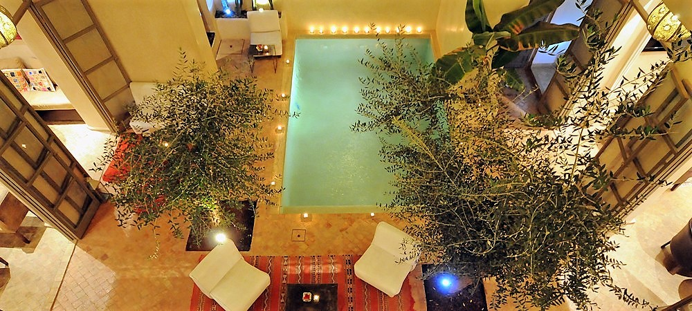 Riad marrakech piscine priv e riad privatif marrakech for Riad essaouira avec piscine