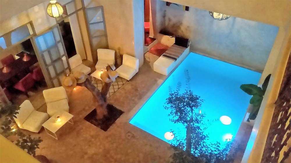 location riad marrakech personnel