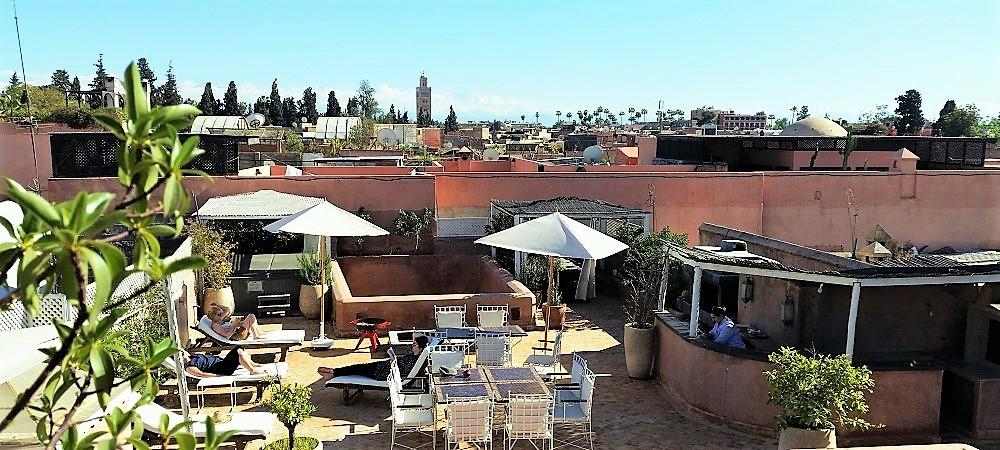 Riad marrakech riad marrakech spa avec piscine for Riad a marrakech avec piscine