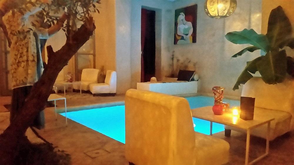 Riad marrakech riad marrakech spa avec piscine for Riad marrakech piscine