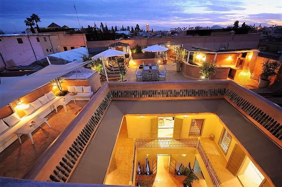 Riad marrakech riad marrakech spa avec piscine for Riad essaouira avec piscine